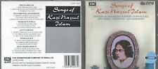 KAZI NAZRUL ISLAM Songs of CD RARE OOP RPG INDIA IMPORT
