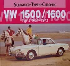 BOEK/LIVRE : VW 1500 / 1600 type 3 - 1961 - 1973 (volkswagen oldtimer jaren 60