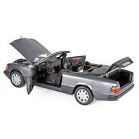 Mercedes 300 CE 24 Cabriolet 1990 Purple Metallic 1:18 Norev 183567