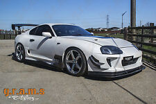 Toyota Supra Ridox Style Side Diverters for Performance Body Kit Side Skirts v6