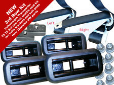 VW T5 T6 Transporter third row complete rear shuttle seat kit inc seat belts
