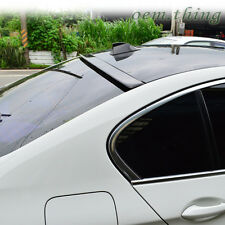 "IN STOCK USA"" Painted BMW F10 5-Series A Type Window Roof Spoiler Sedan M5 #668"