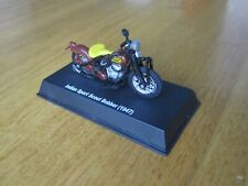 1947 Indian Sport Scout Bobber - 7cm LONG - 1:43 NewRay no box - screwed to base