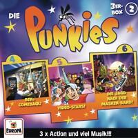 DIE PUNKIES - 02/3ER BOX (FOLGEN 4,5,6)  3 CD NEU