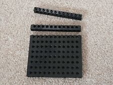 10 x LEGO TECHNIC 1x12 BRICKS WITH 11 PEG HOLES BLACK  3895 OTHER COLOURS AVAIL