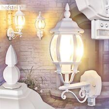 Bewegungsmelder Außen Wand Leuchte klassisch Veranda Terrassen Garten Hof Lampe