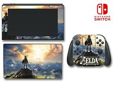 Legend of Zelda Breath of the Wild Video Game Decal Skin for Nintendo Switch