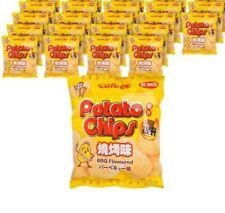 18x Calbee BBQ Flavored Potato Chips Hong Kong snack 卡樂B BBQ薯片 25g Wholesale
