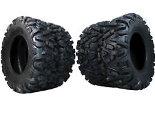 "25"" MASSFX ATV / UTV TIRES FULL COMPLETE SET 4 - 25X8-12 25X10-12 BIGHORN"