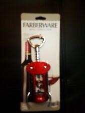 New listing #569 New Farbrerware Wing Corkscrew Wine Opener Bar Wear w/ Built in Cap Remover