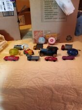 Matchbox and other assorted vintage toys, cars and trucks