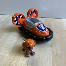NICE! Paw Patrol Zuma's Hovercraft Vehicle with Figure Toy Spin Master COMPLETE!