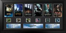 HARRY POTTER Fantasy Movie Series 1-6 FRAMED FILM CELL and PHOTO MONTAGE New