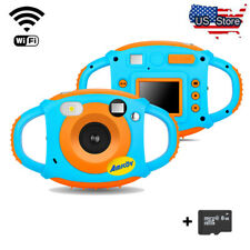 WiFi Camera Digital For Kids Digital Video Camera 1.77in HD Color Screen 8GB 8MP