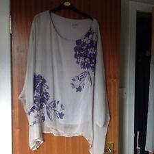 Phase Eight Silk Layered Tunic Size 18