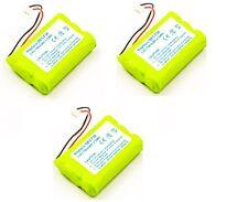 3 x Akku für AGFEO DECT 30  / 35  / C45 / ELMEG DECT 300 / 700 mAh Batterie Ersa