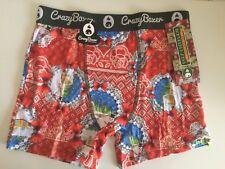 Crazy Underwear Ugly Underwear Boxer Brief Medium Christmas Gift 🎄 Snowman ⛄️