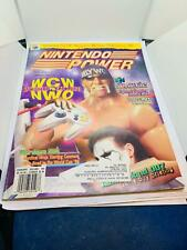 NINTENDO POWER MAGAZINE #105 WCW VS NWO  YOSI STORY