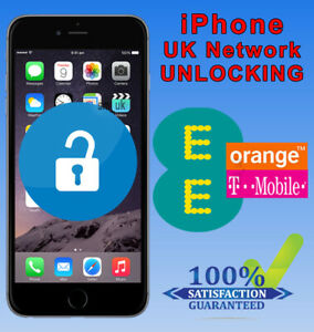 UNLOCKING SERVICE For Apple iPhone 6 7 8 SE XS XR XS Max 11 11 Pro - EE UK 24hrs