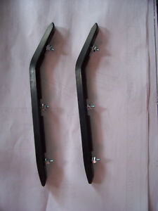 1967 Impala Front Bumper guard Rubber pads guards 3897519 like NOS 67 Caprice