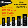 New Replacement Li-ion Internal Battery for iPhone 4G 4S 5 5S 5C SE 6 6S 7 Plus