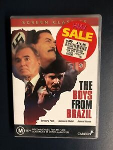 The Boys From Brazil  Gregory Peck Laurence Olivier James Mason DVD
