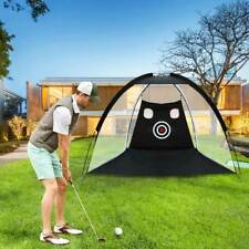2M Golf Practice Cage Training Cage Driving Hit Net Aids Indoor/Outdoor Portable