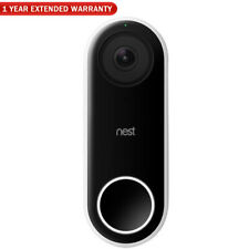 Nest Hola Video Timbre inteligente Wi-Fi (NC5100US) + 1 año de garantía extendida