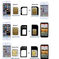 Adaptor IPhone Phone Adapters Sim Holder For Nano Adapter Card SIM Standard