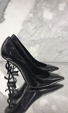 YSL Opyum Pumps Black Patent Size 40 Brand New Boxed