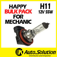 H11 Globes Bulbs Bulk Pack 10PCS 12V 55W Halogen Headlight Yellow Warm White