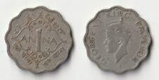 1946 India 1 anna coin