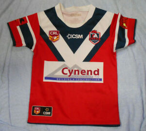 #VV1. SMALL COBAR JUNIOR  RUGBY LEAGUE PLAYER'S JERSEY