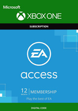 EA ACCESS 12 MONTH MEMBERSHIP XBOX ONE KEY CODE [QUICK DELIVERY 24/7]