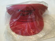 Chevrolet Racing Hat Cap Red Chevy Made In USA Boating Trucker Bowtie Corvette
