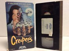 Creepers VHS aka Phenomena Dario Argento Jennifer Connelly MEDIA Double Flap