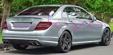 Mercedes C Klasse W204 AMG STILE  POSTERIORE SPOILER TETTO SPOILER ALETTONE