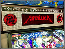 Stern METALLICA & KISS Pinball - Speaker Grill AMP Decal Mod! ROCK n ROLL Baby!