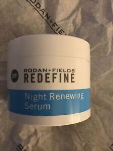Rodan+fields Redefine Night Renewing Serum 60 Capsules