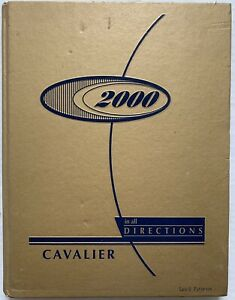 2000 GREENBRIER WEST HIGH SCHOOL YEARBOOK, THE CAVALIER, CHARMCO, WV