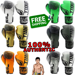 TWINS SPECIAL Gloves FBGVS12-TW Muay Thai Boxing NEW PU Synthetic 100% GENUINE