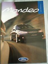 Ford Mondeo range brochure 1998 Ed 2