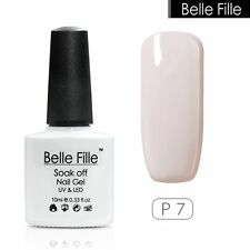 BELLE FILLE Nail Art Soak Off UV LED Gel Polish Lamp Manicure DIY 72 Color 10ml