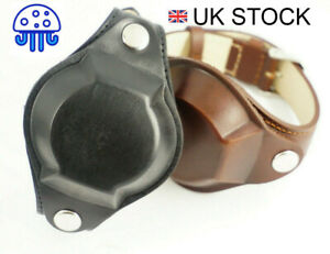 Military Watch Strap with COVER 19mm-22mm & EXTRA HOLES - fit wrists 17.5 - 22cm