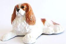 Hand Finished & Signed - Cavalier King Charles Spaniel - Blenheim Dog Figurine