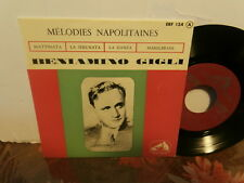 "beniamino gigli""mélodies napolitaines""ep7""fr.l.v.d.s.maitre:7erf134.biem"