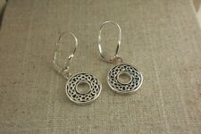 Earrings by Keith Jack Jewelry Sterling Silver Celtic Knot Dangle
