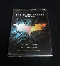 Dark Knight Trilogy Limited Edition Gift Set DVD-Brand New and Sealed