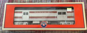 Lionel O Gauge 2110 Santa Fe Baggage Car Super Chief Train Car