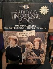 Series of Unfortunate Events - Three Books in One - by Lemony Snicket HB 2004